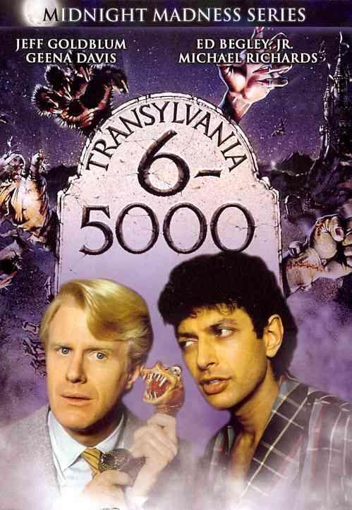 TRANSYLVANIA 6 5000 BY GOLDBLUM,JEFF (DVD)